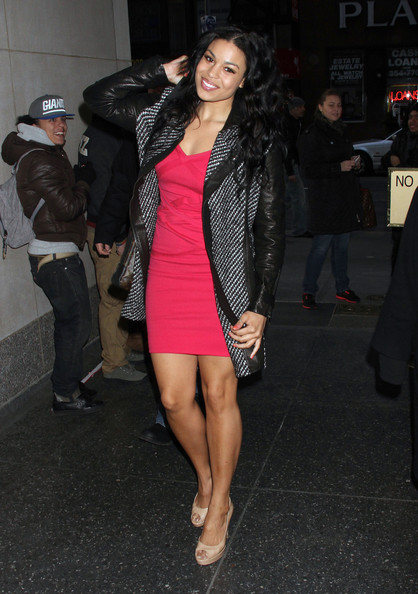 Jordin Sparks Wool Coat