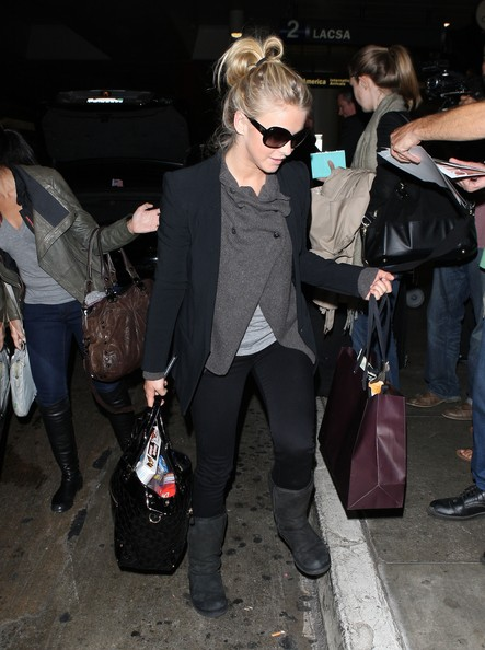 More Pics of Julianne Hough Patent Leather Tote (3 of 11) - Julianne Hough Lookbook - StyleBistro