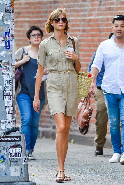Karlie Kloss Shirtdress