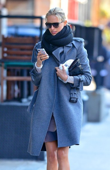 Karolina Kurkova Out and About in NYC