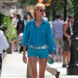 Karolina Kurkova's Sky Blue Button-Down