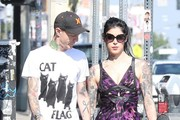 Kat Von D Print Dress