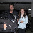 Len Wiseman and Lily Sheen