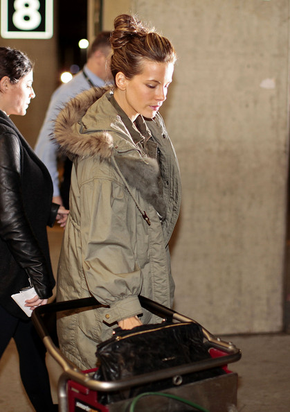 More Pics of Kate Beckinsale Loose Bun (5 of 8) - Loose Bun Lookbook - StyleBistro