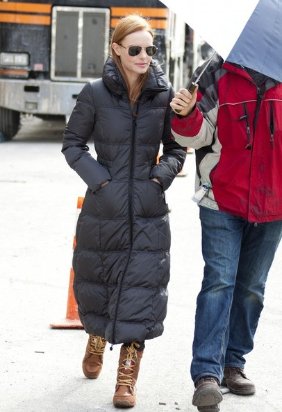 Kate Bosworth snow boots