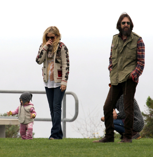 Kate Hudson And Chris Robinson At Son Ryder's Baseball Game