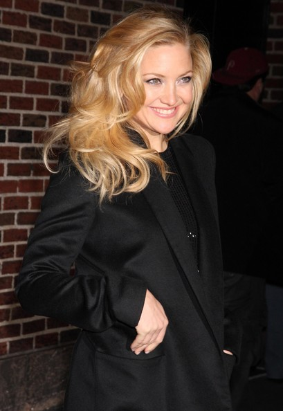 More Pics of Kate Hudson Wool Coat (1 of 13) - Outerwear Lookbook - StyleBistro []