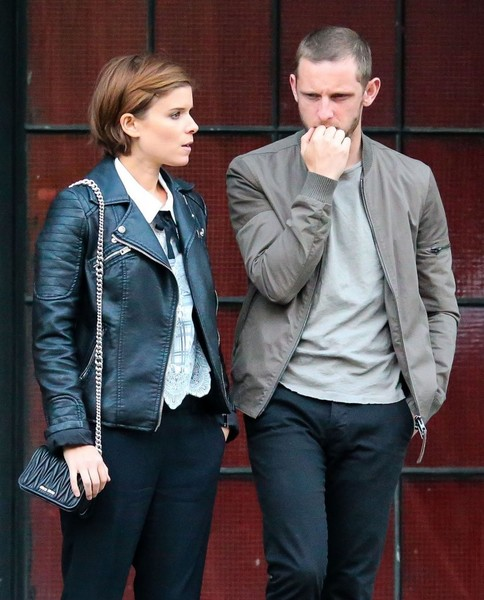 Kate Mara Quilted Leather Bag