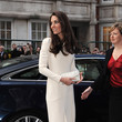 Kate Middleton's Minimal White Roland Mouret Gown