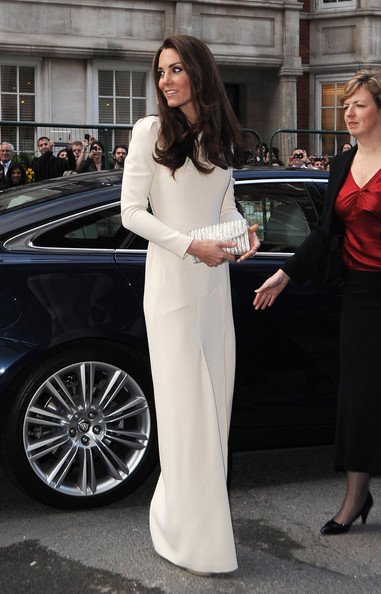 Kate Middleton in Roland Mouret