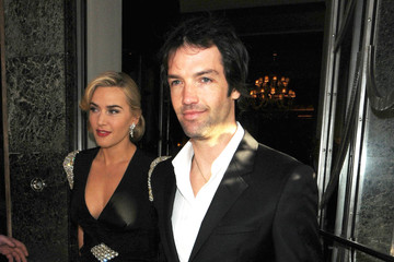 "Kate Winslet Ned Rocknroll Stars Of ""Titanic"" Leave Claridges Hotel"