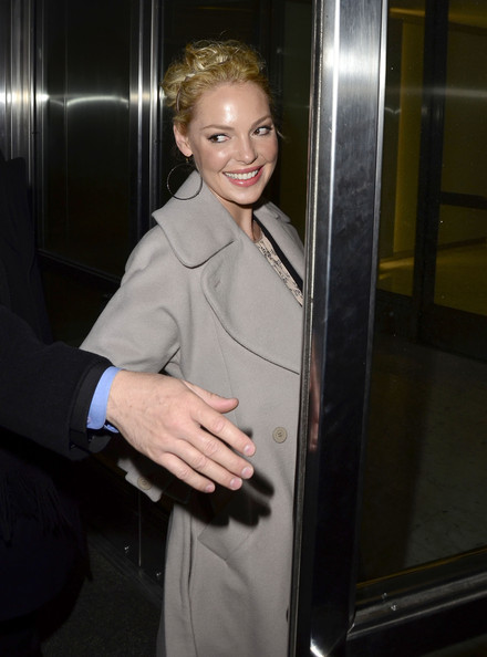 More Pics of Katherine Heigl Exotic Skin Tote (1 of 12) - Katherine Heigl Lookbook - StyleBistro