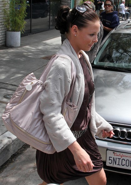Katherine Heigl Nylon Handbag