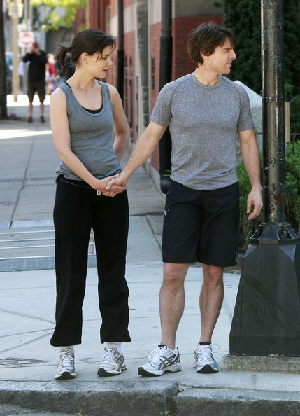 Katie Holmes Running Shoes