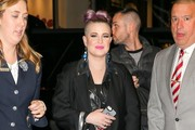 Kelly Osbourne Combat Boots