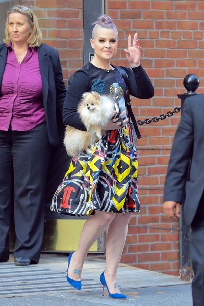 Kelly Osbourne Knee Length Skirt