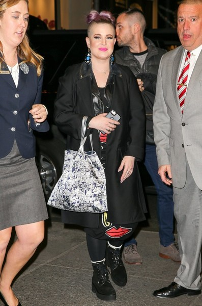 Kelly Osbourne Wool Coat