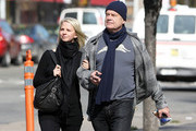 Actor Kelsey Grammer and Kayte Walsh shopped in Soho, NYC for finger puppets, they purchased a monkey, elephant and tiger of which later during their walk they started to break out in laughter. Recently divorced Kelsey Grammer's new girlfriend Kayte Walsh, 28, recently suffered from a miscarriage... Mandatory credit: Brian Flannery/FlynetPictures.com