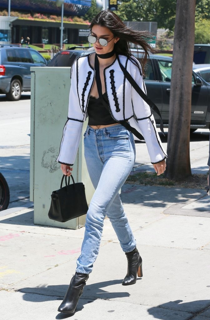 Kendall Jenner High Waisted Jeans Kendall Jenner Clothes