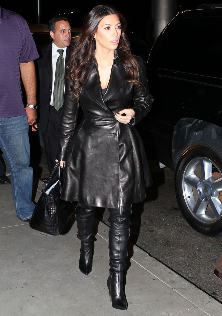 kardashian christian louboutin over the knee boots
