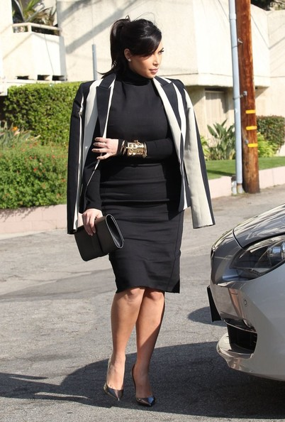 More Pics of Kim Kardashian Blazer (5 of 33) - Kim Kardashian Lookbook - StyleBistro