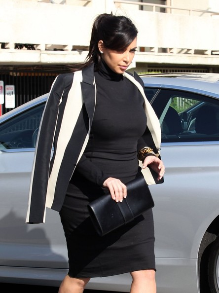 More Pics of Kim Kardashian Blazer (1 of 33) - Kim Kardashian Lookbook - StyleBistro