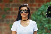 Kourtney Kardashian Crop Top