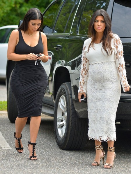 Kourtney Kardashian Maternity Dresses