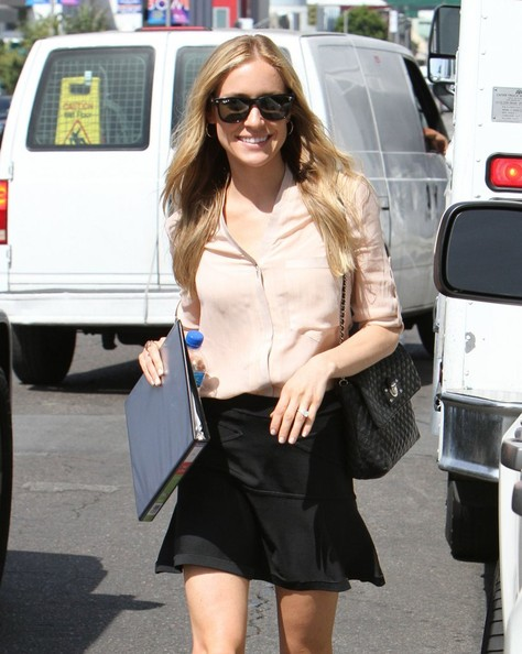 More Pics of Kristin Cavallari Mini Skirt (1 of 27) - Kristin Cavallari Lookbook - StyleBistro