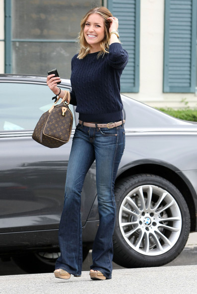 Kristin Cavallari Printed Shoulder Bag