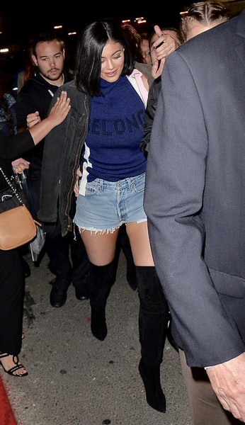 Kylie Jenner Over the Knee Boots