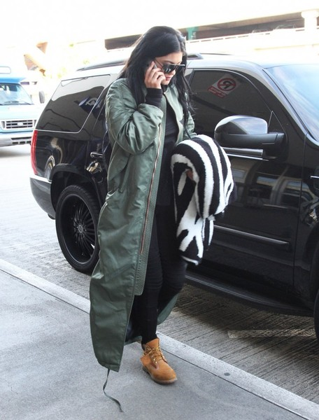 Kylie Jenner Work Boots
