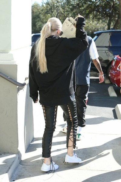 Kylie Jenner Leather Pants