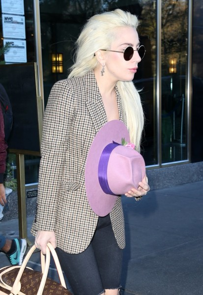 More Pics of Lady Gaga Decorative Hat (2 of 18) - Decorative Hat Lookbook - StyleBistro []