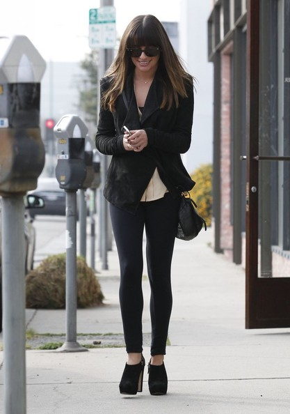 More Pics of Lea Michele Skinny Pants (6 of 19) - Lea Michele Lookbook - StyleBistro