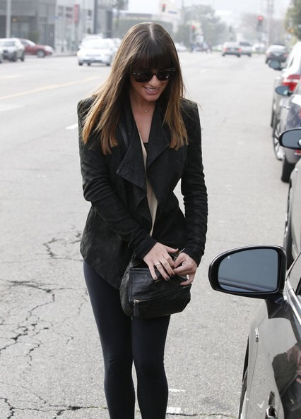 More Pics of Lea Michele Skinny Pants (4 of 19) - Lea Michele Lookbook - StyleBistro