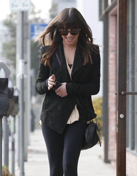 More Pics of Lea Michele Skinny Pants (7 of 19) - Lea Michele Lookbook - StyleBistro
