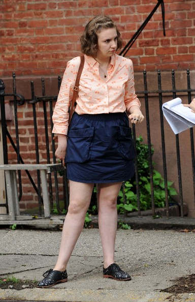 HBO's 'Girls' Films In New York