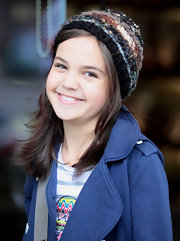 Bailee Madison let her hair down as she strolled through downtown Vancouver.