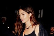 Lily Aldridge Bomber Jacket