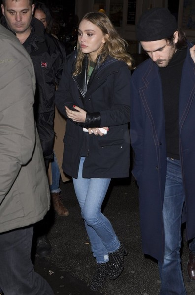 Lily-Rose Depp Ankle Boots