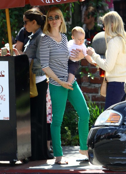 More Pics of January Jones Skinny Jeans (5 of 21) - January Jones Lookbook - StyleBistro