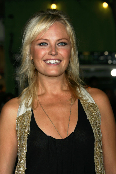 Malin Akerman Gold Hoops