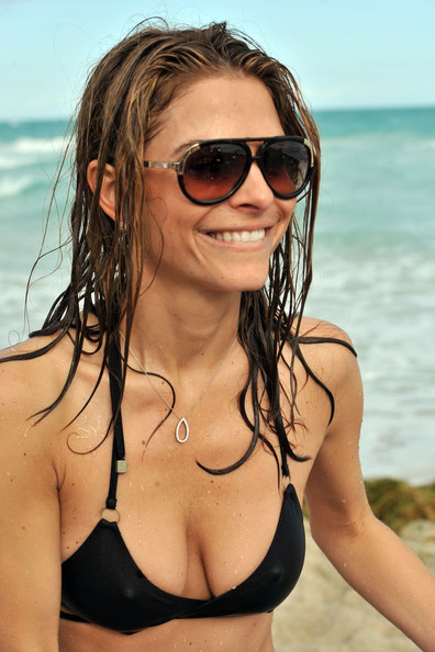 Maria Menounos Aviator Sunglasses