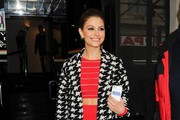 Maria Menounos Evening Coat