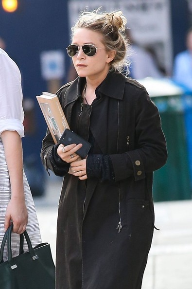More Pics of Mary-Kate Olsen Trenchcoat (1 of 6) - Mary-Kate Olsen Lookbook - StyleBistro