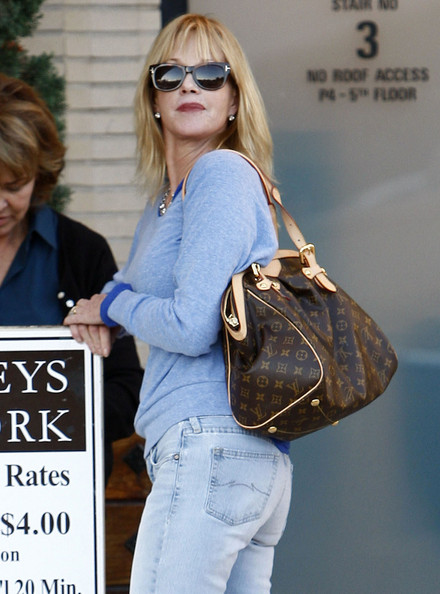 Melanie Griffith Printed Shoulder Bag