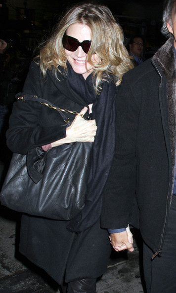 Michelle pfeiffer quilted leather bag michelle pfeiffer - Louis ck madison square garden december 14 ...