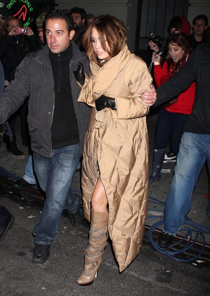 Miley Cyrus Knee High Boots []