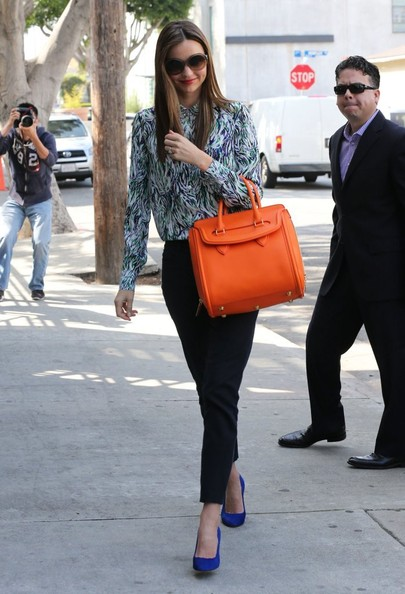 More Pics of Miranda Kerr Print Blouse (4 of 12) - Miranda Kerr Lookbook - StyleBistro